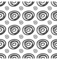 ink rounds sketch seamless pattern vector image vector image