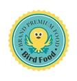 Premium bird food icon vector image vector image
