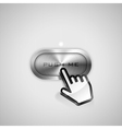 Push me button vector image vector image