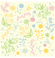 Seamless Floral Pattern for Textile Design vector image vector image