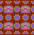 simple cute pattern in small-scale flowers vector image vector image