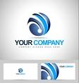 Sphere Design logo concept vector image vector image
