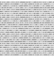binary code visual representation of data vector image vector image
