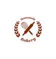 homemade bakery bread shop store logo badge