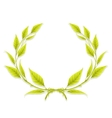 Laurel Wreath Design Element vector image