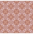 Pink and brown pattern vector image