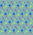 seamless pattern of small squares vector image vector image
