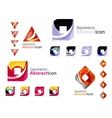 Universal abstract geometric shapes - business vector image
