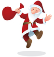 Santa Claus color vector image