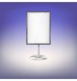 Advertising board vector image vector image