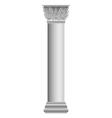Corinthian column vector image vector image