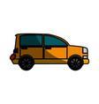 familiar car vehicle vector image vector image