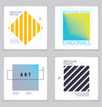 minimalistic brochure designs web commerce or vector image vector image