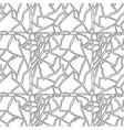 Seamless hand drawn pattern with eggshell texture vector image vector image