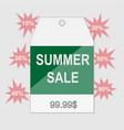 summer sale grunge label eps vector image vector image