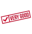 Very Good rubber stamp vector image