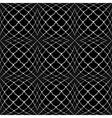 Design seamless monochrome convex pattern vector image