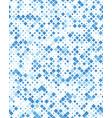 diagonal square mosaic pattern vector image vector image