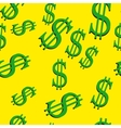Dollar signs seamless vector image vector image