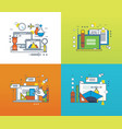 education and learning organization the workplace vector image