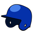 isolated baseball icon vector image