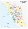 map san francisco bay area