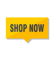 shop now price tag vector image vector image