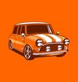 vintage car 17 vector image vector image