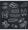 woman shoes set Spring vector image vector image