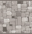 seamless background texture grey stone wall vector image