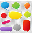 color labels set vector image vector image