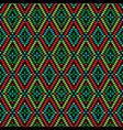 diamond geometric pattern vector image vector image