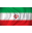 Flag of Iran vector image