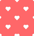 heart seamless pattern valentines day background vector image