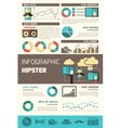 Hipster Infographics Set vector image vector image