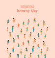 international womens day template vector image