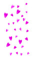 mothers day background with pink glitter confetti vector image