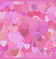 seamless valentines day pattern background vector image vector image