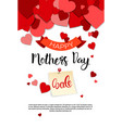 shopping sale happy mother day discount spring vector image vector image