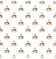 unity teamwork pattern seamless vector image vector image
