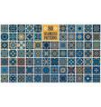 arabic decorative tiles vector image vector image