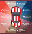 car service repair diagnostic vector image vector image