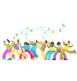 jazz music festival poster banner template vector image vector image