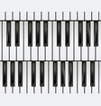 Piano keyboard seamless vector image
