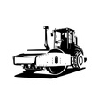 Road Roller Retro vector image vector image