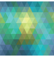 seamless geometric background of triangles vector image vector image