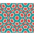 Seamless pattern geometric texture vector image