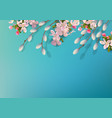 spring background vector image vector image