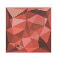 Deep Pink Abstract Low Polygon Background vector image vector image
