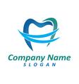 Dentist logo 5 vector image vector image
